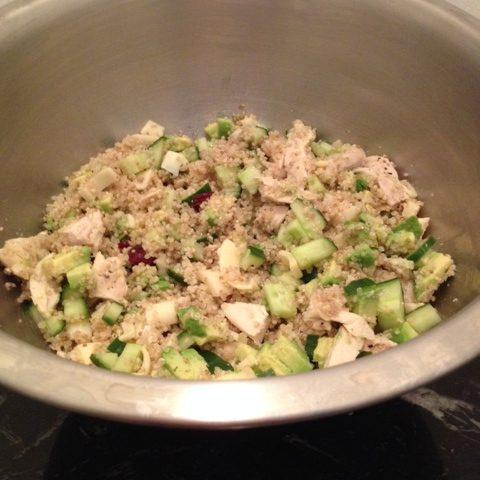 Hearty Quinoa Salad (serves 4)