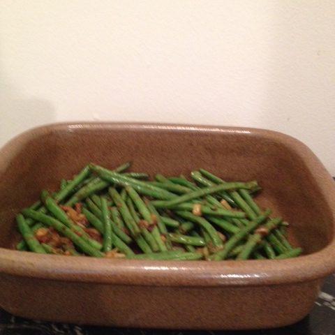 Asian Green Beans (serves 2)