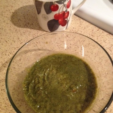 Chicken and Spinach Soup (serves 4)