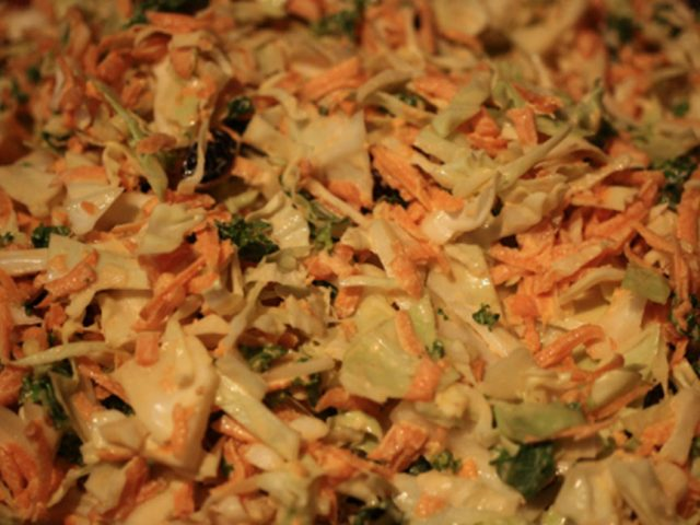 Coleslaw with Kale