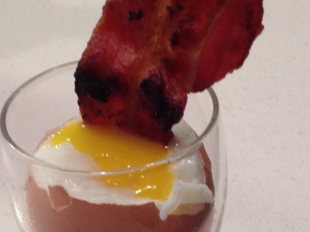 Bacon Dippy Eggs