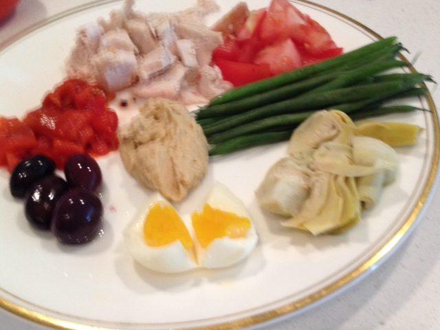 Chicken or Feta Platter
