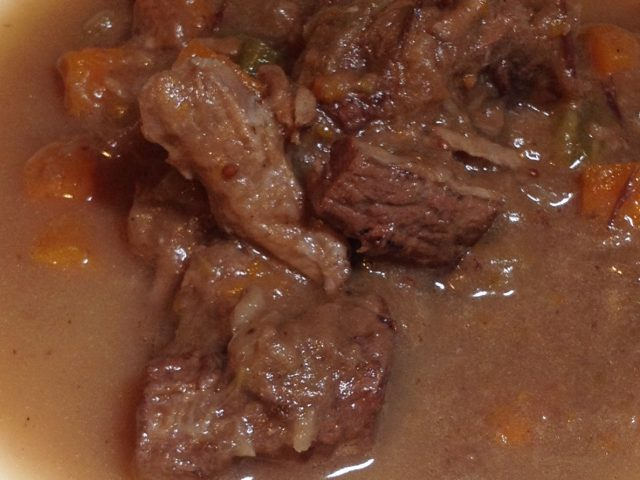 Beef Stew with Cranberries and Horseradish (4)