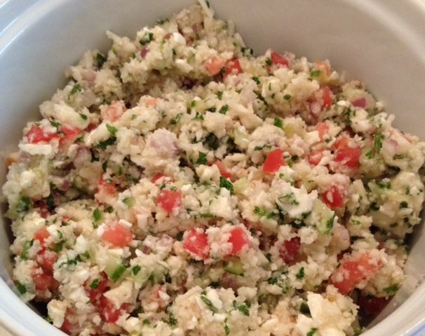 Cauliflower Tabbouleh (4)