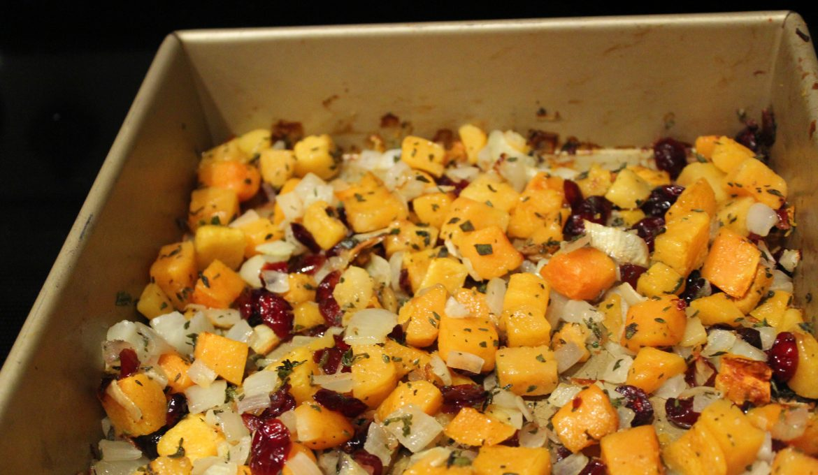 Butternut Squash and Cranberries (4)