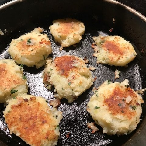 Lemon and Parsley Potato Cakes (4)