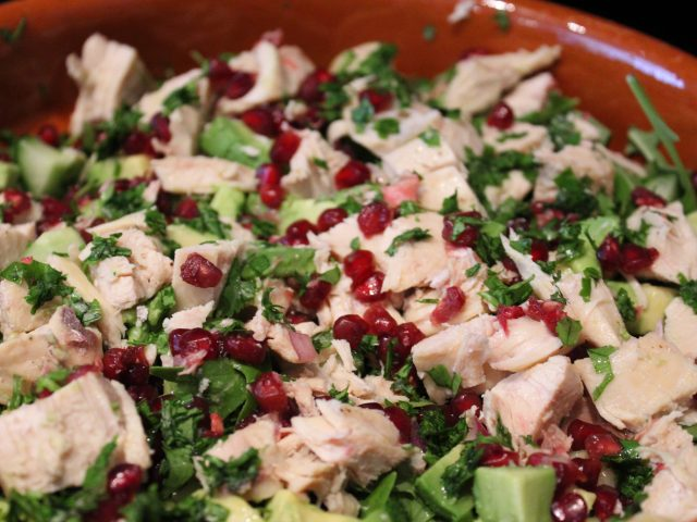 Pomegranate Salad with Chicken (4)