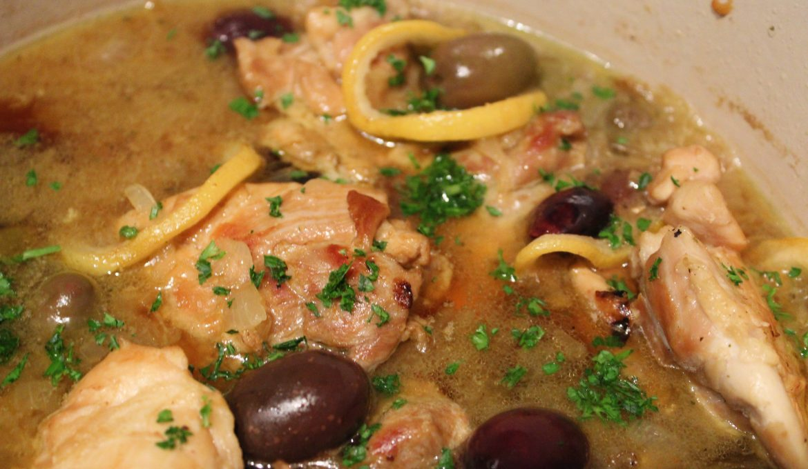 Chicken Casserole with Olives and Lemon (4)