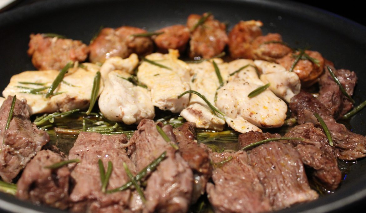 Mixed Grill Steeped in Rosemary (4)