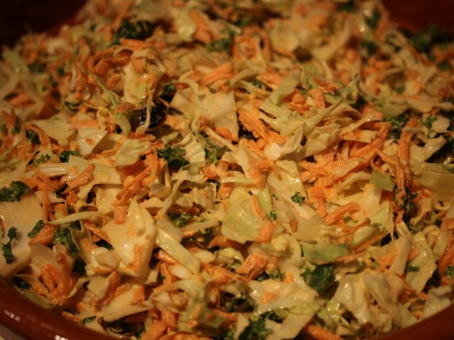Coleslaw with Kale (4)