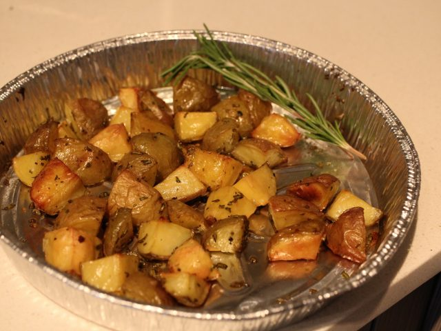 Roasted Potatoes with Rosemary (4)