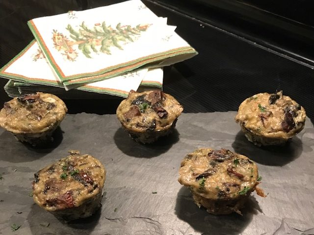 Mini Mushroom Frittatas (makes 20)