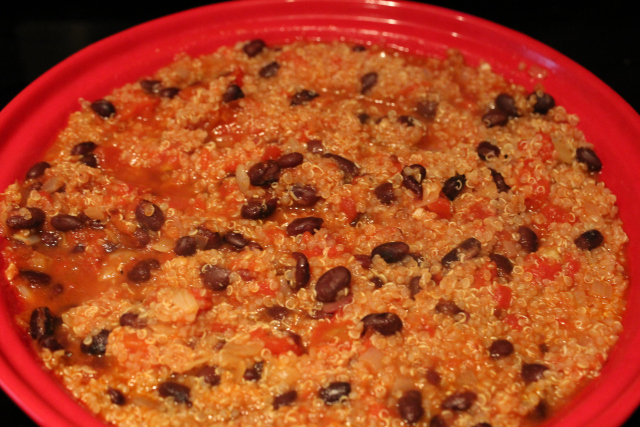 Black Beans and Quinoa (4)