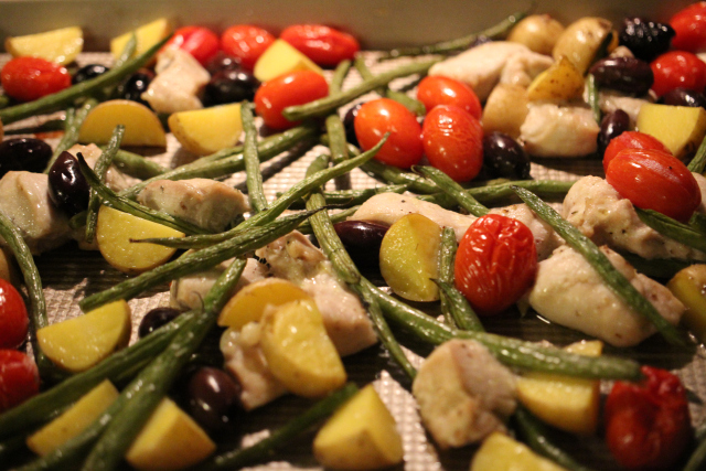 Tomato and Chicken Tray Bake (4)