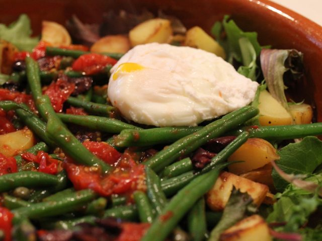 Warm Salad Nicoise (4)