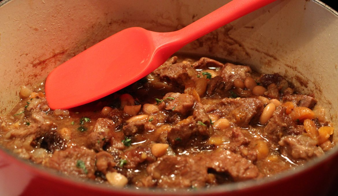 Lamb Stew with Prunes and Apricots (4)