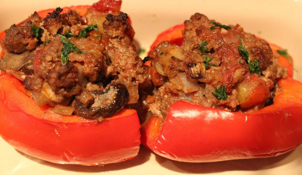 Stuffed Red Peppers (4)
