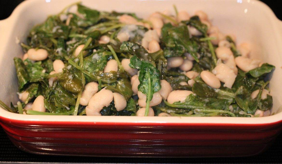 Lemon Baby Kale and Cannellini Beans (2 – 4)