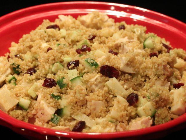 Quinoa Chicken Salad (serves 4)