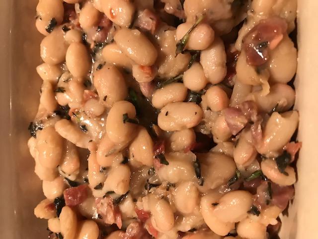 Tuscan Beans (serves 4)