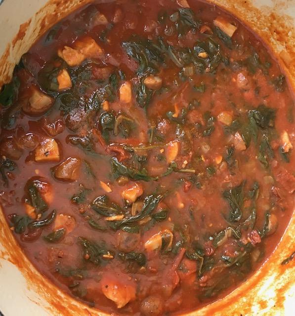 Fall Chicken Stew (serves 4)