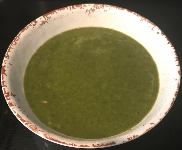 Spinach and Bean Soup (serves 4)