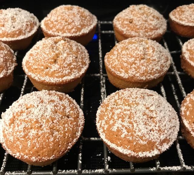 Mini Pumpkin Spice Almond Cakes (makes 12)