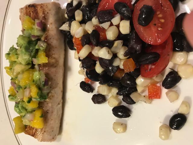 Mango Salsa (serves 4)