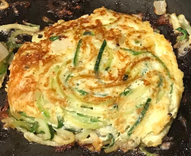 Zucchini Feta Fritters (serves 4)