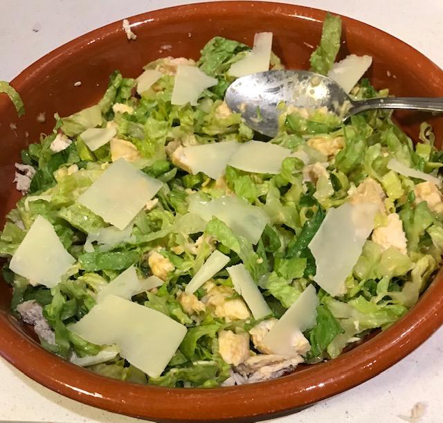 Chicken Caesar Salad (serves 4)