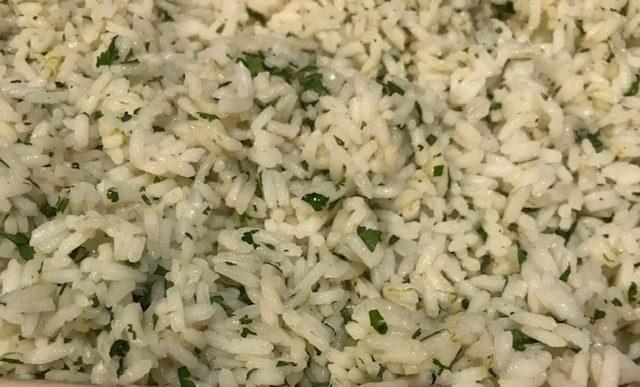 Cilantro Lime Rice (serves 4)
