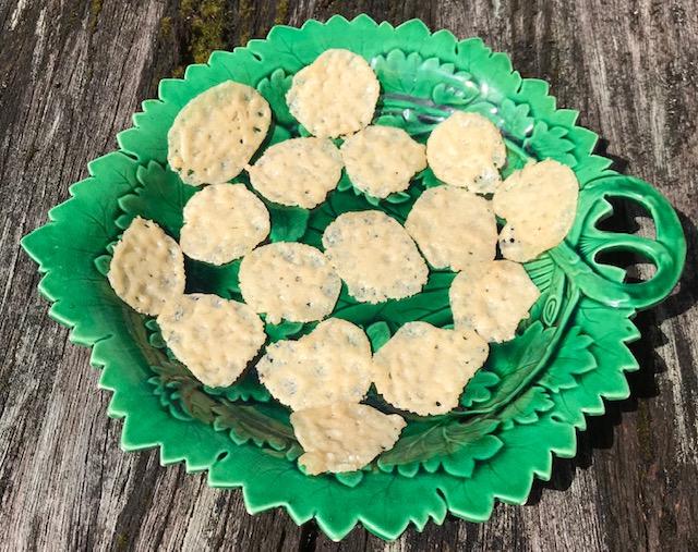 Parmesan Crisps (makes 12 – 16)