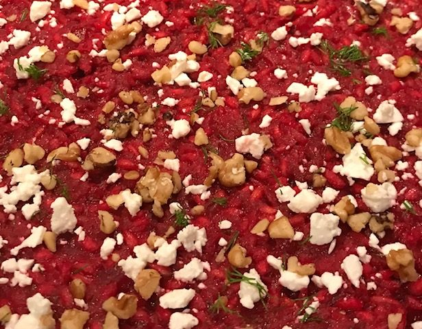 Beetroot Risotto (serves 4)