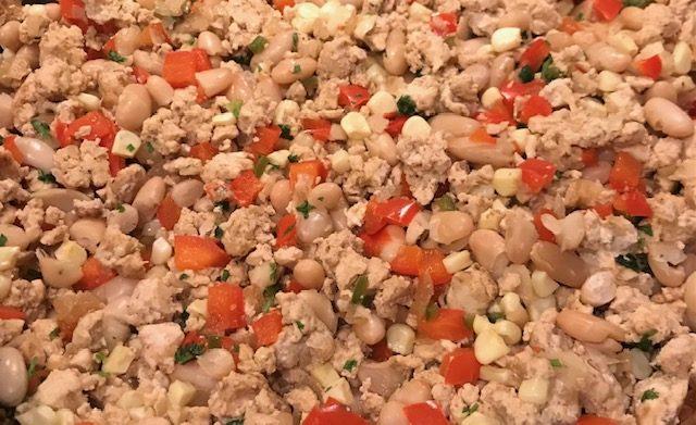 Chicken Chili (serves 4)