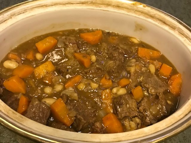 Traditional Beef Stew with a Twist (serves 4)